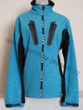 Softshellová bunda ONE WAY CATA JACKET light blue