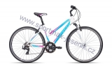 Dámské kolo cross CTM MAXIMA 2.0 white / light blue