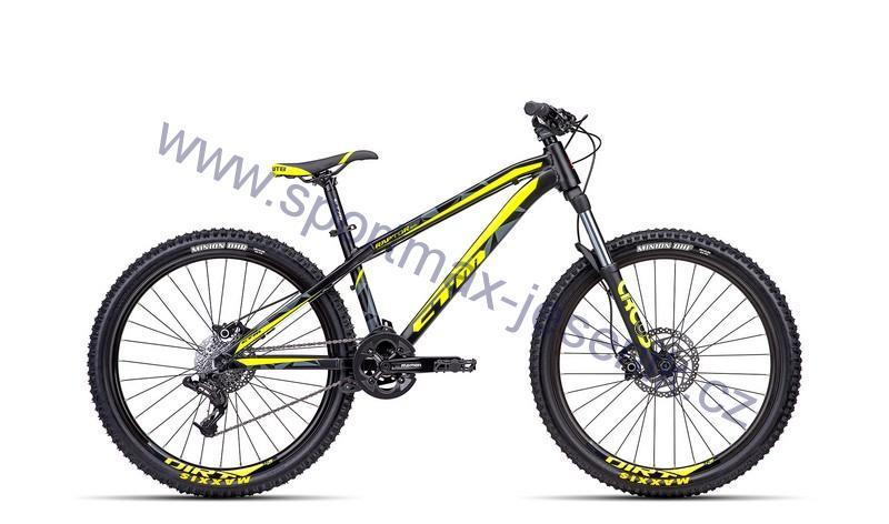 Dirt kolo CTM RAPTOR 3.0 matt black/reflex yellow