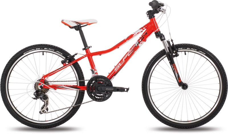 Dětské kolo SUPERIOR XC 24 PAINT red / white / black
