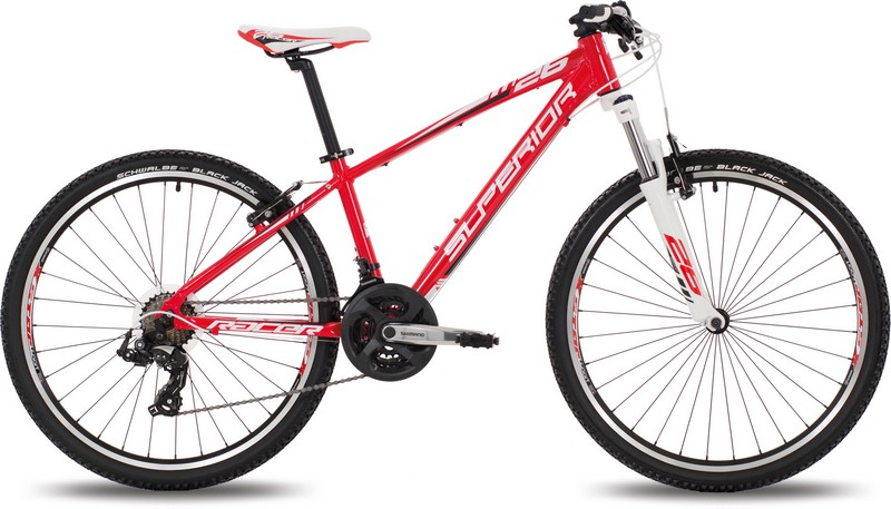 Juniorské kolo SUPERIOR XC 26 RACER red