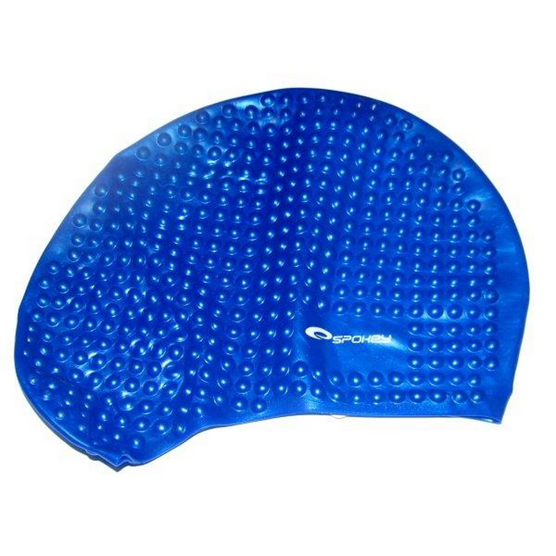 66b016094b7 Plavecká čepice SPOKEY BELBIN modrá