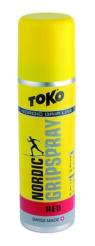 Stoupací vosk TOKO Nordic GripSpray red