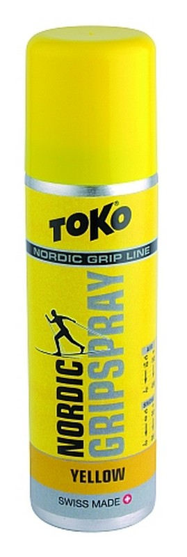 Stoupací vosk TOKO Nordic GripSpray yellow