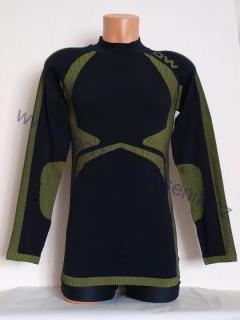 Triko pánské ONE WAY MASTER Shirt černá žlutá empty 377c852a81