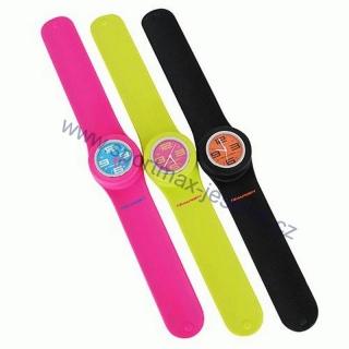 Sportovní hodinky SLAP silikonové růžové empty f5e0398cdc