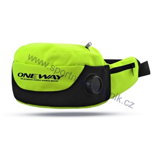 Ledvinka ONE WAY thermo drinking belt yellow black