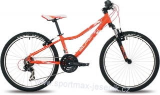Dětské kolo SUPERIOR XC 24 PAINT orange / red / white