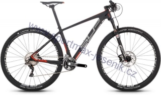 "MTB RACE kolo 29"" SUPERIOR XP 979 black matt / silver / red"