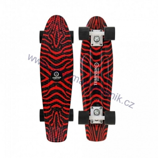 Skateboard SILIC red