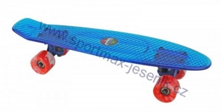 Skateboard BUFFY STAR blue
