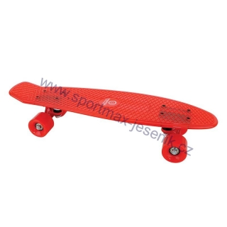 Skateboard BUFFY STAR red